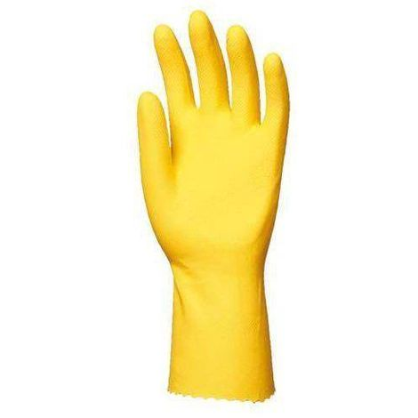 Gants latex jaune SUPER 5000 (lot de 100 paires) Coverguard