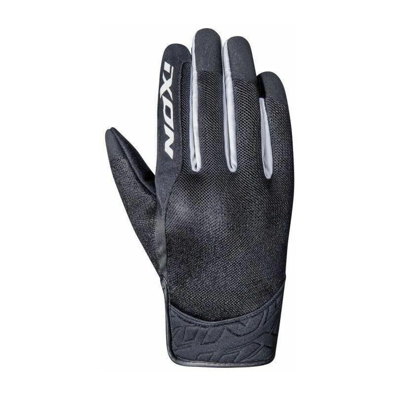 Gants moto RS Slicker - Homme - Noir et blanc - Ixon