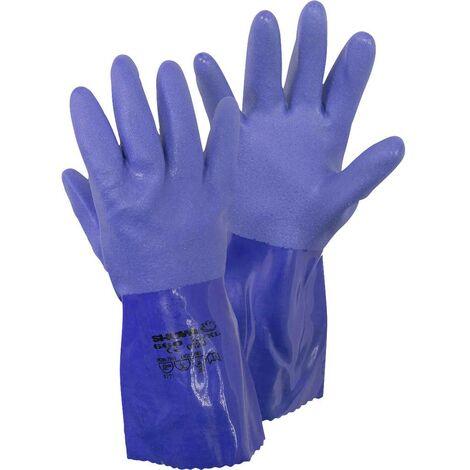 """main image of """"Gants pour produits chimiques Taille: 9, L Showa 660 Gr. L 4708 Tissu de coton, PVC EN 388 , EN 374-2 , EN 374-3, EN 45"""""""