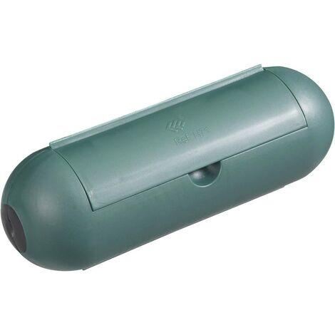 GAO 0392 Steckerbox 1fach Grün X55407