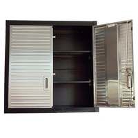 Garage 2 Door Metal Wall Storage Cabinet Commercial Quality