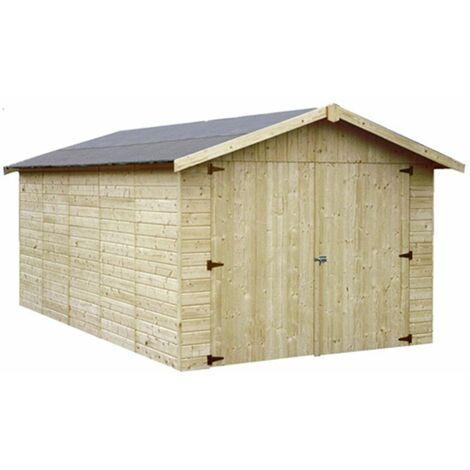 Garage de madera Garove Decor et Jardín 15mm