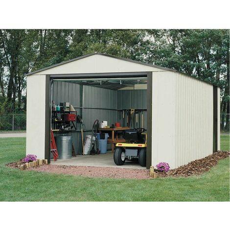 Garage en acier galvanisé - 19 m²
