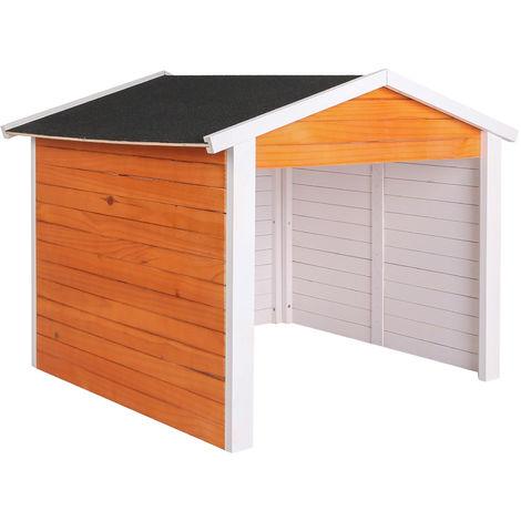 garage f r m hroboter aus holz rasenrobotergarage. Black Bedroom Furniture Sets. Home Design Ideas