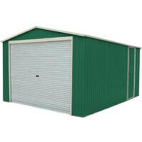 Garage in Metallo Essex (Verde) 19,5 m² Esterno