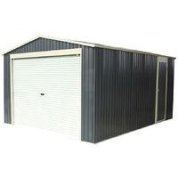 Garage in Metallo Gardiun Essex (Grigio Antracite) 19,5 m² Esterno