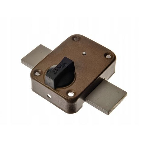 Garage latch lock for doors jania titan t3
