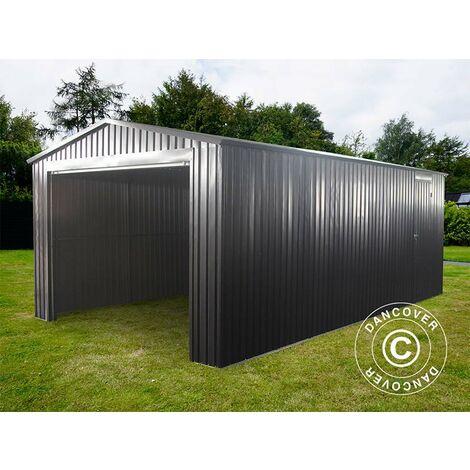 Garage métallique 3,38x5,76x2,43m ProShed®, Anthracite
