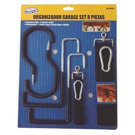 Garage Organisateur 8 Septembre pieces | Crochets, crochets, mousquetons et des rubans atelier