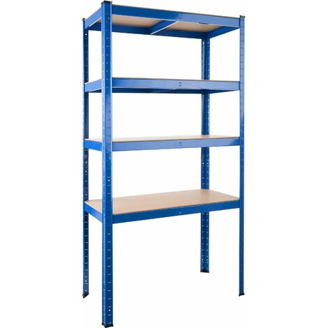 Garage shelving unit 5 tier - metal shelving, garage storage, shed shelving