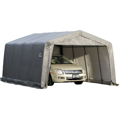 GARAGE SOUPLE Couleur Gris 370 x 490 cm / 18,13M² Porte 300 x 180 cm (L+H)