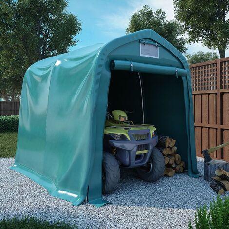 Garage Tent PVC 1.6x2.4 m Green