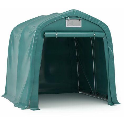 Garage Tent PVC 2.4x2.4 m Green