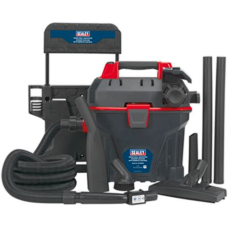 Garage Vacuum 1500W with Remote Control - Wall Mounting