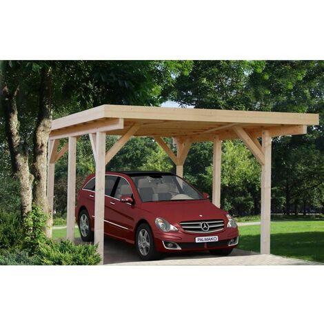 Garaje de madera Karl 11,7 m²
