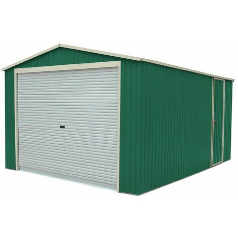 Garaje Metálico Gardiun Essex (Verde) 19, 52 m² Ext - KIS12893