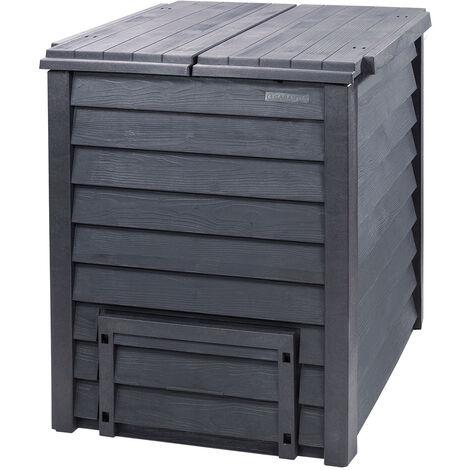"""Garantia Composteur """"Thermo-Wood"""" - 600 L avec grille au sol"""