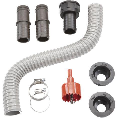 Garantia Kit de connexion de récupérateur d'eau de pluie - gris