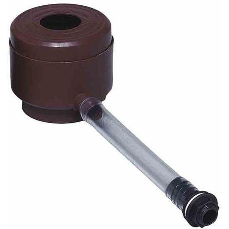 GARANTIA Llenadora de barriles de lluvia con deflector de hojas color: marrón