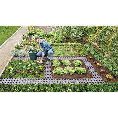 Garantia Pièce pour chemin de jardin - 70 x 24 cm - lot de 4