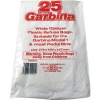 Garbina Cupboard Door Bin Liners Pk25