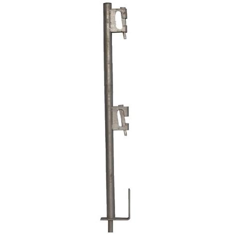 Garde-corps de réservation à bloqueur galvanisé - Ø 40 mm