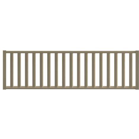 Garde-corps jura a 320 cm en pin (kit de construction)