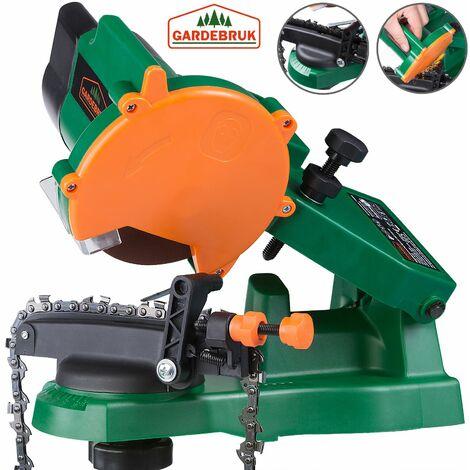 Gardebruk Afilador de cadena para motosierra de 90 W ralentín 5000 min-1 limitador de profundidad