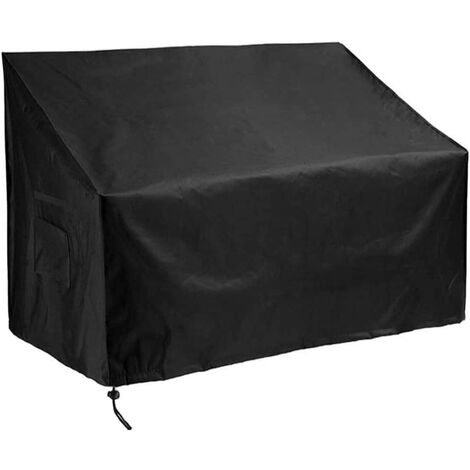 """main image of """"Garden 2/3/4 Seater Bench Cover Waterproof Outdoor Furniture Covers with Durable Oxford Material Extra PVC Coating, Patio Loveseat Cover (2 seat(53L x 26W x 35H))"""""""