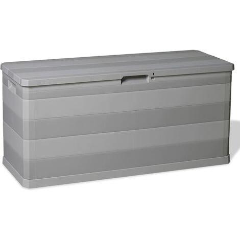 Garden 280 L Plastic Storage Box by WFX Utility - Grey