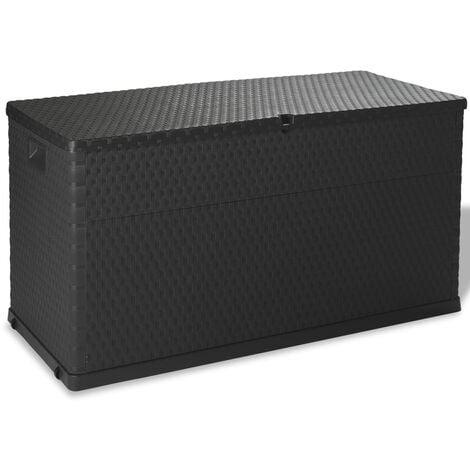 Garden 420 L Plastic Storage Box by WFX Utility - Anthracite