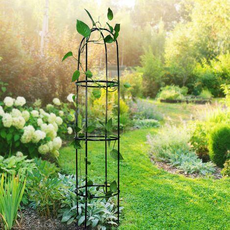 Garden Arch Bell Obelisk