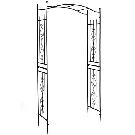 "Garden Arch Door Metal Wedding Party Plants Arch 43x17x90"""