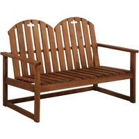 Garden Bench 110 cm Solid Acacia Wood