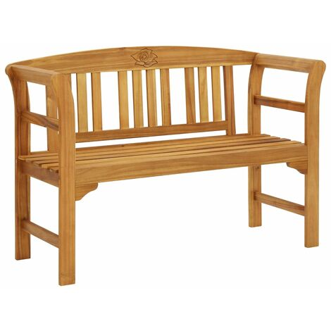 Garden Bench 120 cm Solid Acacia Wood