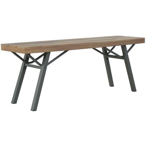 Garden Bench 120 cm Solid Acacia Wood