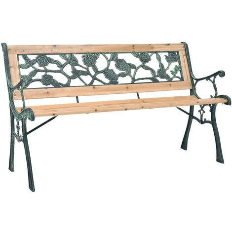 Garden Bench 122 cm Wood - Brown