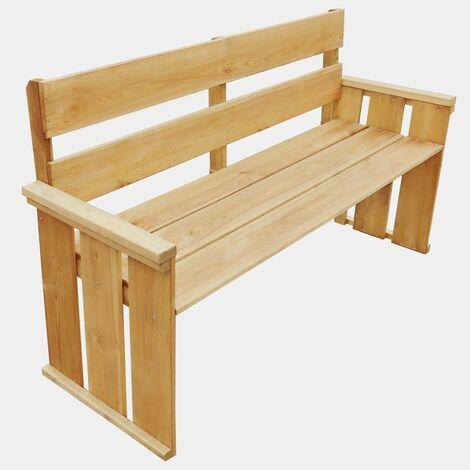 Garden Bench 160 cm Impregnated Pinewood