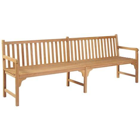 Garden Bench 240 cm Solid Teak