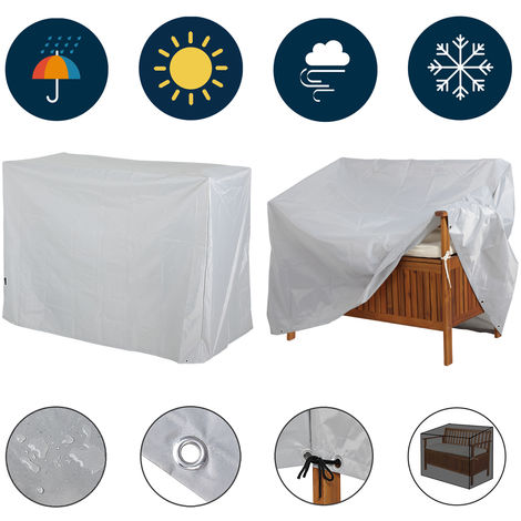 Garden Bench Cover Kingsleeve Covering Protection Patio Tarpaulin 420 Oxford
