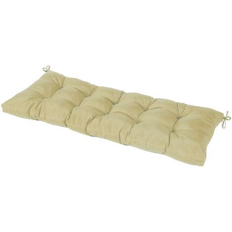 Garden bench cushion 110x45x10cm