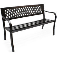 "Garden bench """"Mareike"""" metal in park-design park seat two-seater outdoor"