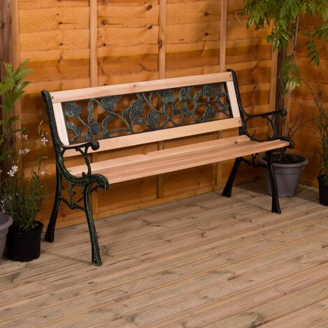 Garden Bench, Rose Style