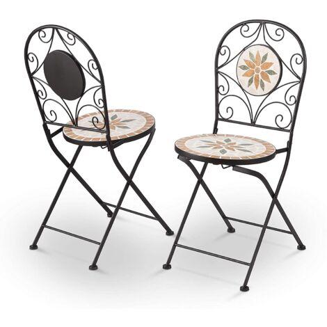Garden Chair Bistro Furniture Armchair 35cm * 36cm * 91cm Type C