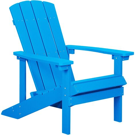 Garden Chair Blue ADIRONDACK