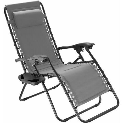 Garden chair Giuseppe - grey