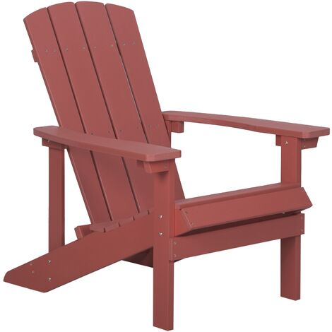 Garden Chair Red ADIRONDACK