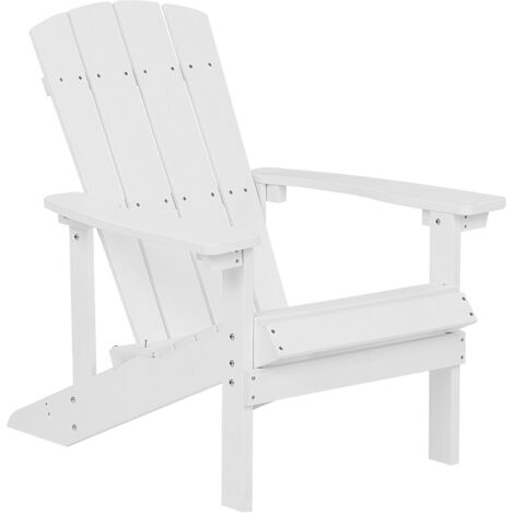 Garden Chair White ADIRONDACK