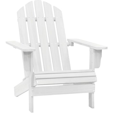 Garden Chair Wood White