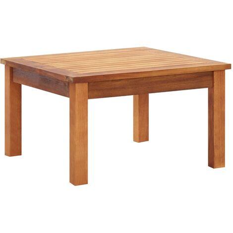 Garden Coffee Table 60x60x36 cm Solid Acacia Wood